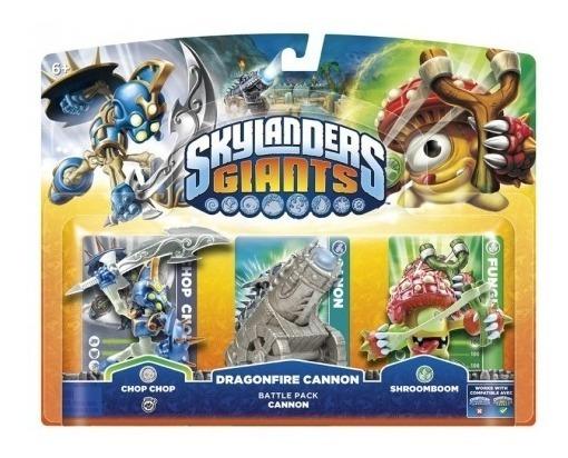 Kit Skylanders Giants Chop Chop Shroomboom Dragonfire Ps3