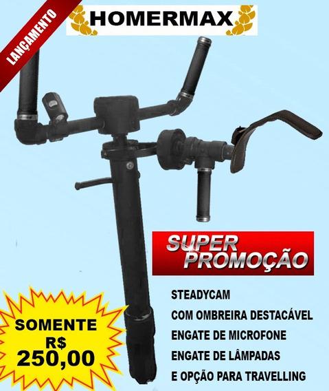 Homermax - Steadycam Com Ombreira Descartável