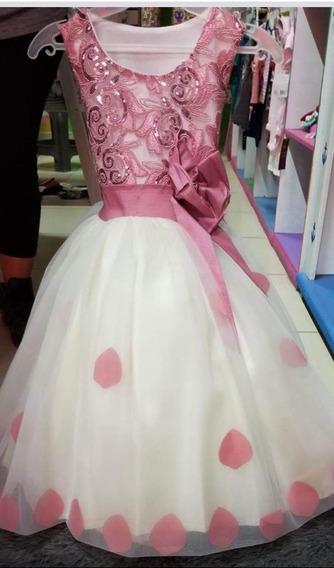 Hermoso Vestido Para Niña Talla 6