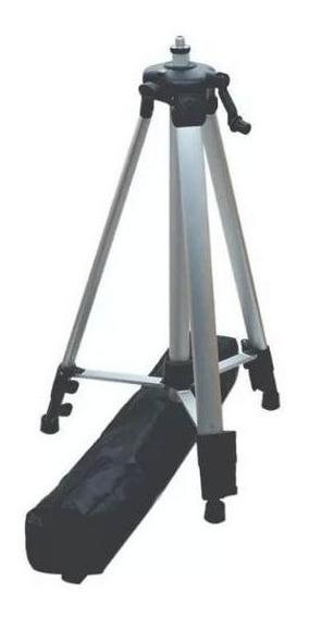 Tripé + Bolsa Para Nível A Laser Telescópio Até 1.2m Cti6190
