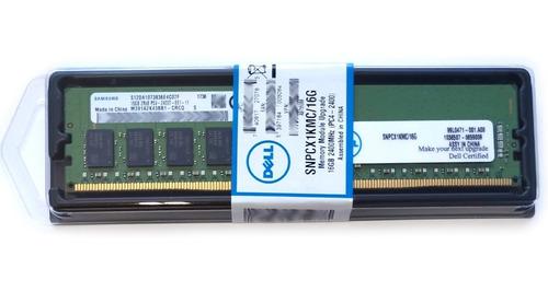 Imagem 1 de 5 de Memória 16gb Ddr4-2400 Ecc Udimm T30 T130 T330 R230 R330 Nf