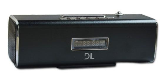 Mini Caixa De Som Portátil Dl Usb Microsd Digital Ms-30pre