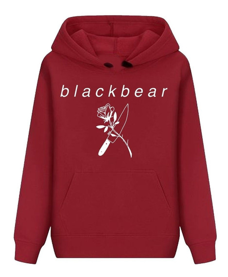 Moletom Blusa De Frio Black Bear Trap Rapper Rap Lil Peep
