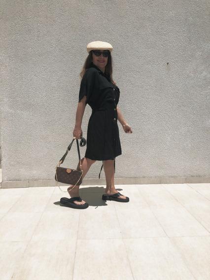 Vestido Camisero Corto