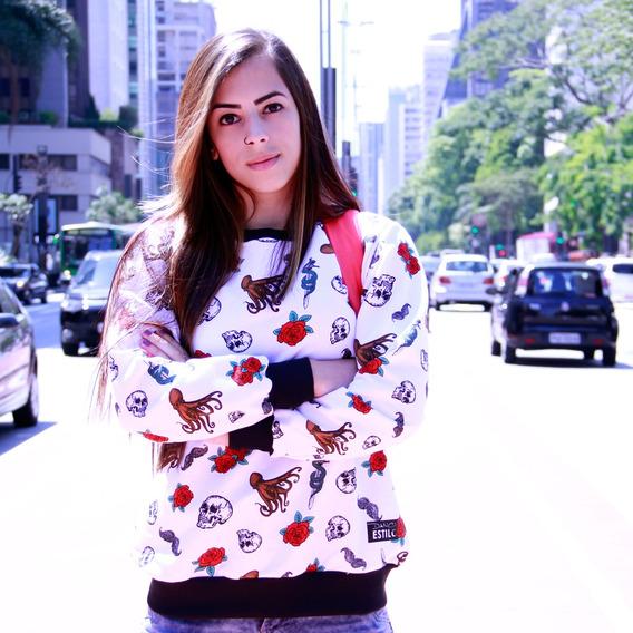 Suéter Branco Feminino Courtesy