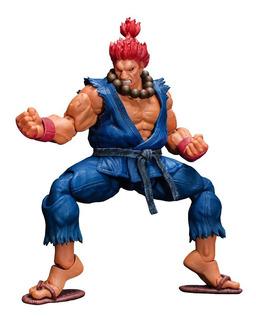 Street Fighter V Akuma V2 Storm Collectibles Robot Negro