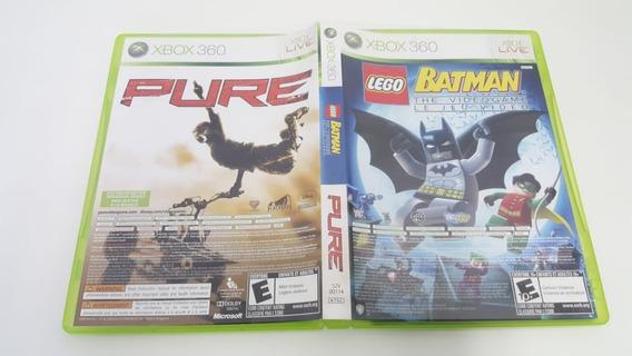 Pure + Batman Lego 1 - Xbox 360 - Original - Usado