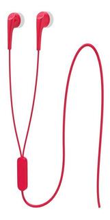 Fone De Ouvido Motorola Estereo Earbuds 2 In Ear Vermelho