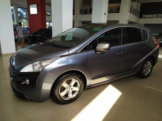 Peugeot 3008 1.6 Thp Nafta Año 2012 Color Gris Oscuro
