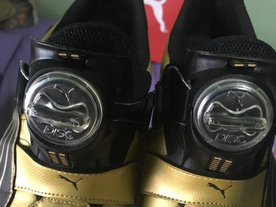 Tênis Puma Disc Cell Gold (edição Limitada)