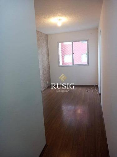 Apartamento Com 2 Dormitórios À Venda, 43 M²  - Vila Talarico - São Paulo/sp - Ap1426