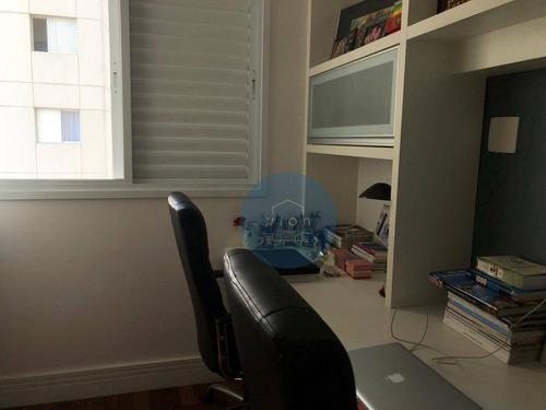 Apartamento Com 3 Dormitórios À Venda, 117 M² Por R$ 1.275.000,00 - Vila Leopoldina - São Paulo/sp - Ap0113