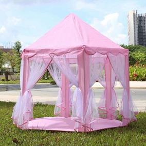 Toca Cabana Barraca Tenda Castelo Infantil Princesas Sem Led