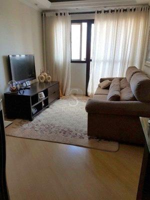 Apartamento Com 3 Dormitórios À Venda, 75 M² Por R$ 480.000 - Jardim Marajoara - São Paulo/sp - Ap1146