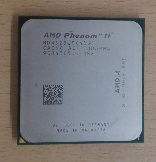 Amd Phenom Ii X4 925 | 4 Nucleos | 2.8 Ghz | Am2+ / Am3