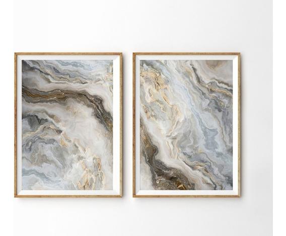Quadro Tela Abstrato Moderno Painel Para Sala