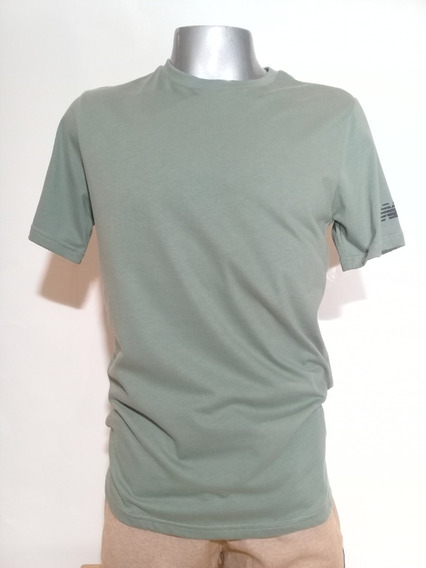 Remera New Balance Essentials Sleeve Vde Envios Caba Y Bs As
