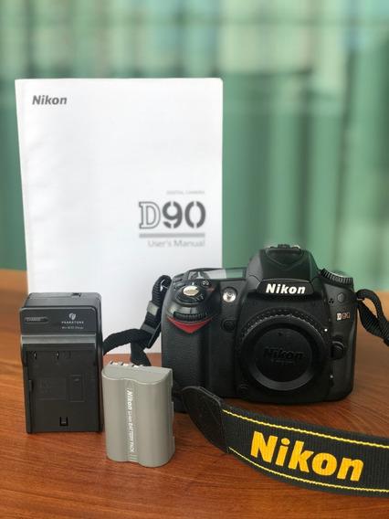 Câmera D90 Nikon (somente Corpo)