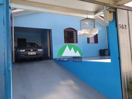 Casa Com 3 Dormitórios À Venda, 115 M² Por R$ 325.000,00 - Xaxim - Curitiba/pr - Ca0205