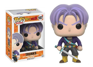 Funko Pop #107 Trunks Dragon Ball Regalosleon