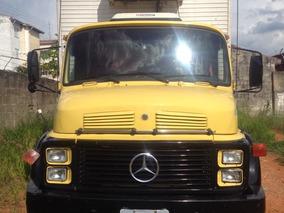 Mercedes-benz Mb 1113 4x2 Toco Baú Refrigerado C/ Gancheira