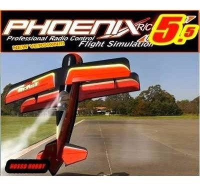 Simulador Phoenix Rc 5.5 Dvd Atualizado Via Internet
