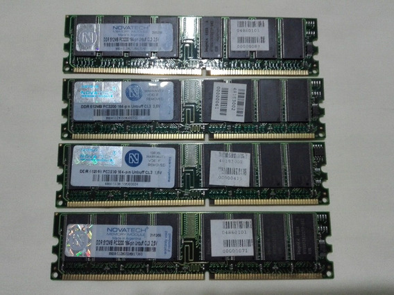Memoria Dimm Ddr Pc 3200 512mb Novatech