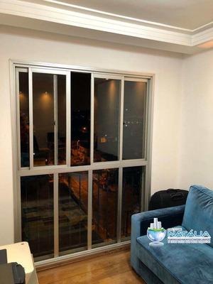 Apartamento Com 03 Dormitórios Sendo 01 Suíte Na Vila Laís - A62687