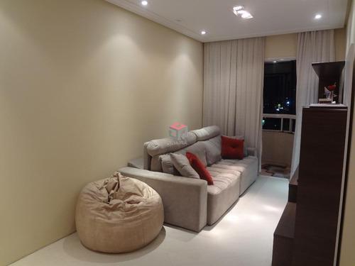 Imagem 1 de 9 de Ótimo Apartamento À Venda, 2 Quartos, 2 Vagas - Jd. Do Mar - São Bernardo Do Campo/ Sp - 47253