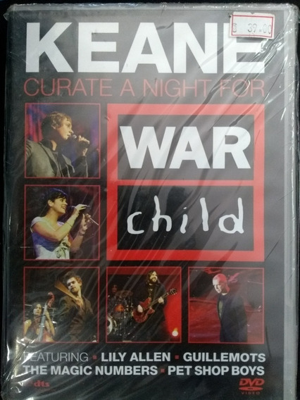 Keane Curate A Night For War Child Dvd Nuevo