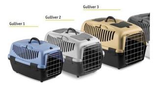 Transportadora Gulliver 1 Gato Perro Puerta Plástica Rígida