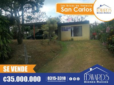 Venta Casa En San Carlos, Aguas Zarcas