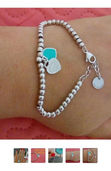 Oportndd! Tiffany Em Aço Inox E Prata Brinde Porta Jóia