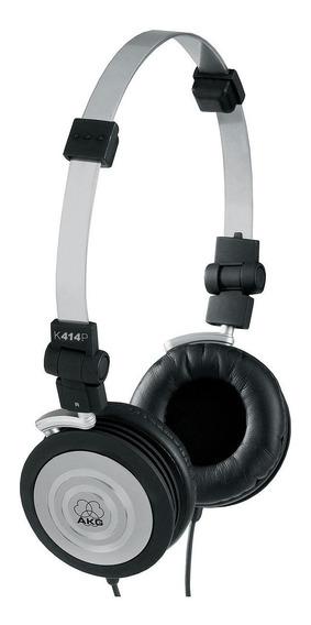 Fone De Ouvido Headphone Akg Profissional Compacto Dobrável K414p C/ Garantia Lacrado
