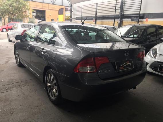 Honda Civic Lxl 1.8 Flex 2011 Aut. Banco De Couro