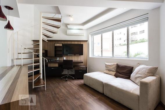 Apartamento Para Aluguel - Vila Nova Conceição, 1 Quarto, 30 - 892808635