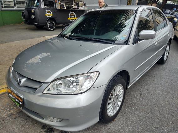 Honda Civic 1.7 Ex Automático Completo 2005
