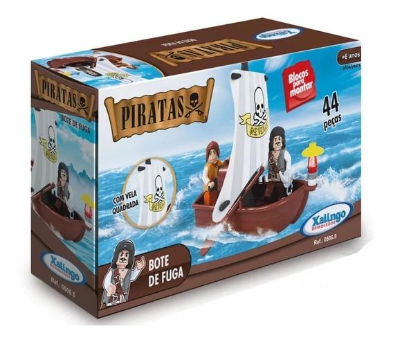 Blocos De Montar Piratas Bote De Fuga - 05065 Xalingo