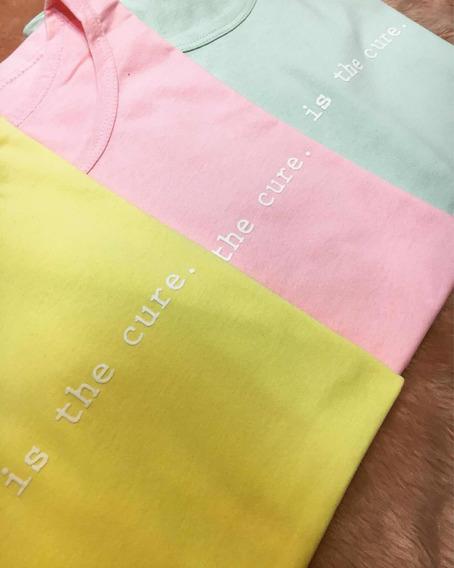 Camisetas Blusas T-shirts Feminina, Kit Com 5 Promoção