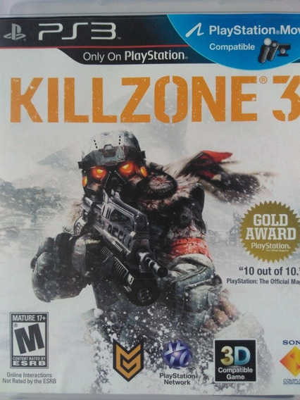 Killzone 3 Ps3 Original , Mídia Física , A Pronta Entrega