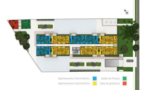 Apartamento À Venda, 71 M² Por R$ 333.350,00 - Centro - São José Dos Pinhais/pr - Ap0547
