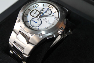 Reloj Lotus H Cronom Sumerg. Cristal Mineral Acero Nuevo