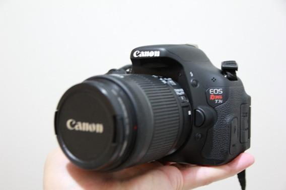 Câmera Eos Rebel T3i 18 Mega Pixel