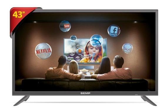 Tv Led 43 Semp Smart L43s3900fs - Unica