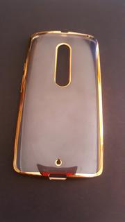 Funda Case Protector Transparente Para Moto X Play Xt1563