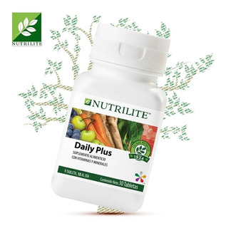 Daily Plus Nutrilite Multivitaminico X 30 Com. Envio Gratis