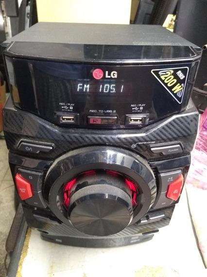 Leitor De Disco Som LG Cm 4340