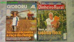 *jl 2 Revistas Globo Rural Fev.2016 + Dinheiro Rural Mai.12*