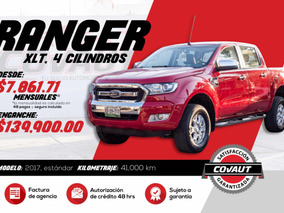 Ford Ranger 2.5 Xlt Cabina Doble 4x2 Mt 2017 Credito!!!