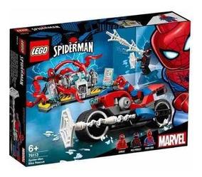 Lego Marvel Super Heroes 76113 - A Moto Do Homem Aranha